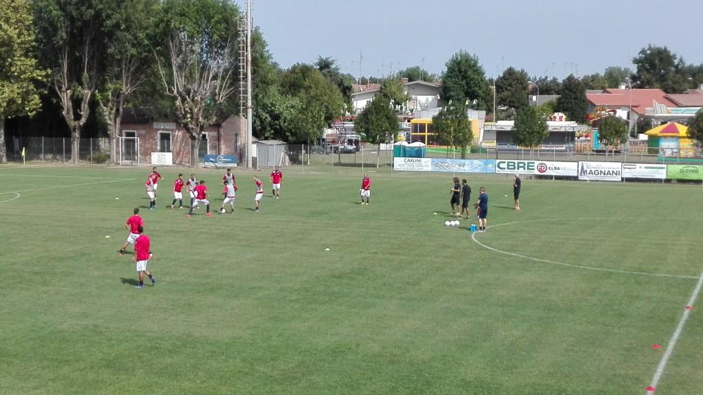 Calcio Eccellenza.   Argentana - Rimini 1 - 1