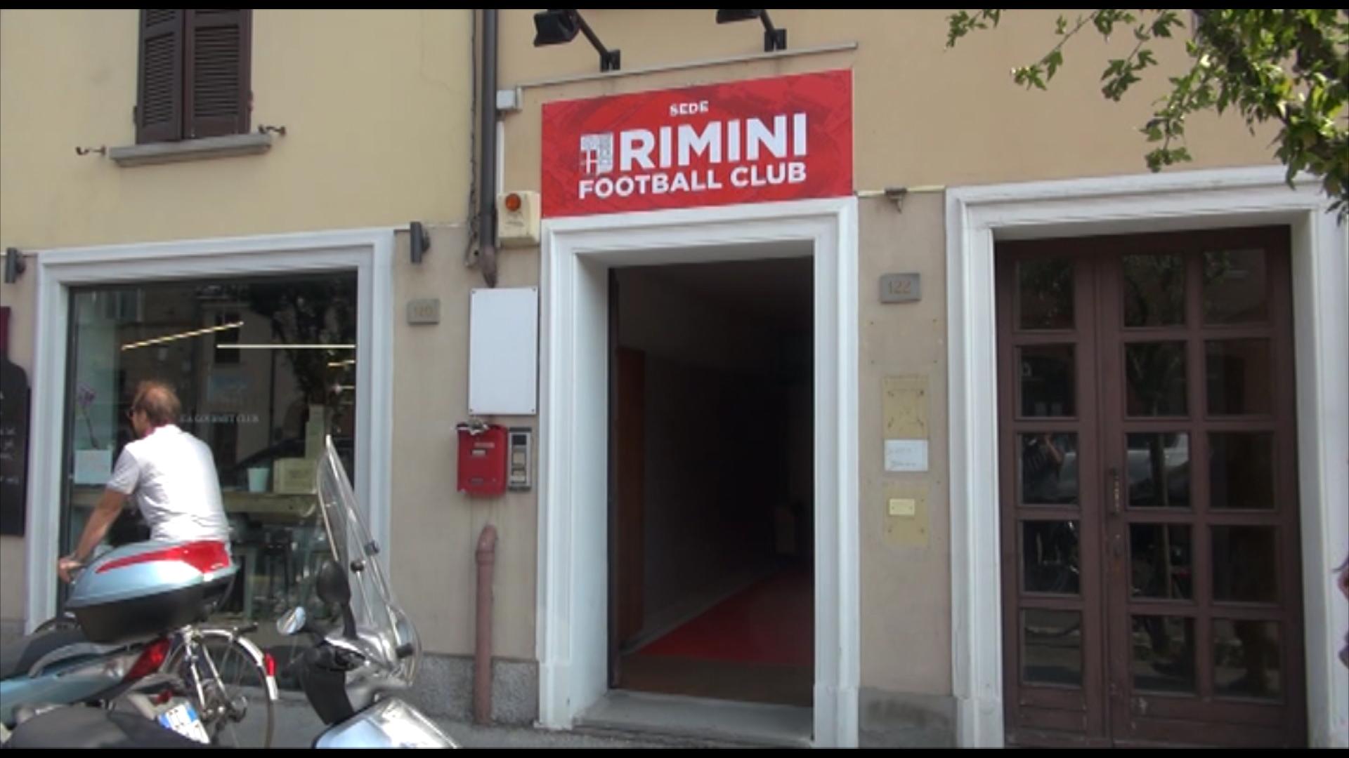 La Rimini calcio inaugura la nuova sede.