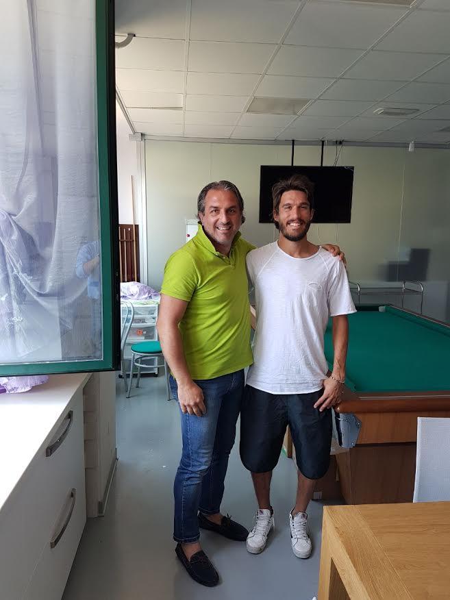 Rimini Calcio. Andrea Montanari è un giocatore del Rimini.
