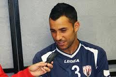 Rimini Calcio. Daniele Simoncelli è un giocatore biancorosso.