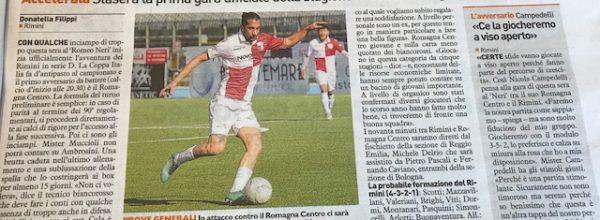 """I titoli dei giornali. Resto del Carlino: Rimini, prove generali al """"Romeo Neri"""""""