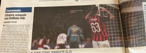 """Libero: """"Milan sciagurato."""""""