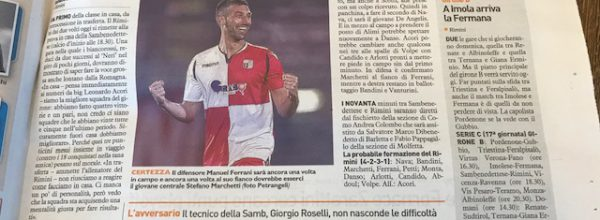 """I titoli dei giornali. Resto del Carlino: """" Rimini, serve un'impresa in viaggio. """""""