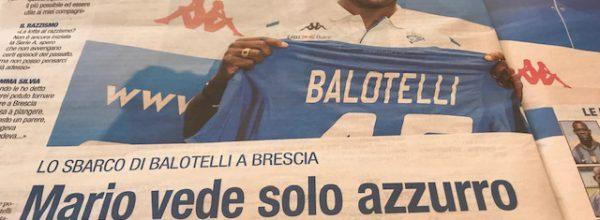 """Libero:  """" Mario vede solo azzurro."""""""