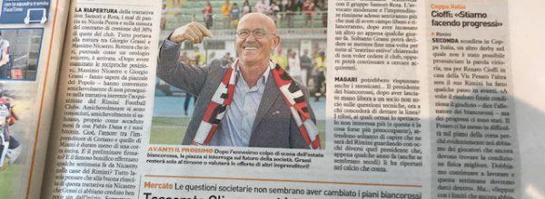 """I titoli dei giornali. Resto del Carlino: """" Rimini, Grassi liquida anche Nicastro ."""""""