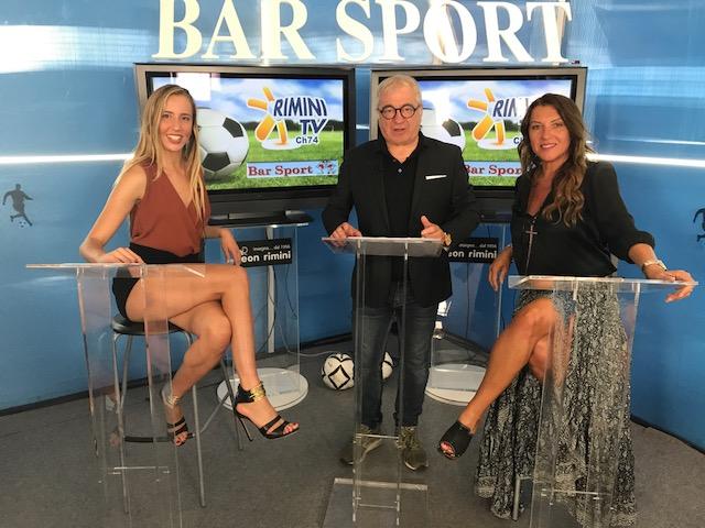 Questa sera ore 20.30 su Rimini Tv – TeleRomagna, canale 74  Bar Sport.