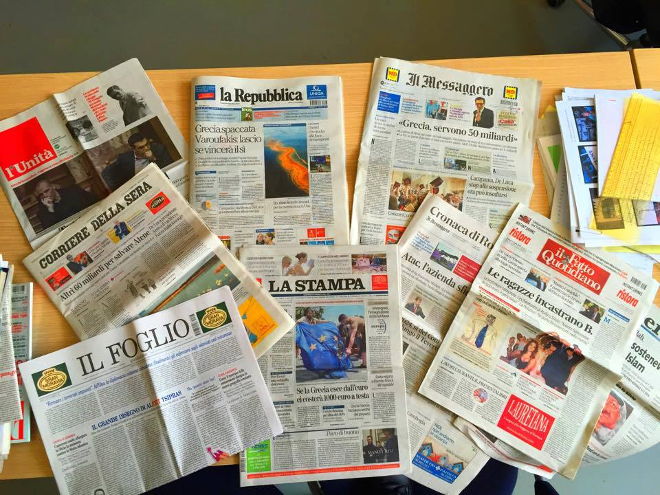 Dove sta il confine tra il giornalismo  e l'opportunismo?