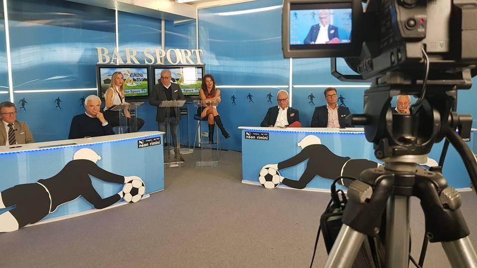 "Questa sera ore 20.30 canale 74 Rimini Tv - TeleRomagna va in onda ""Bar Sport"""