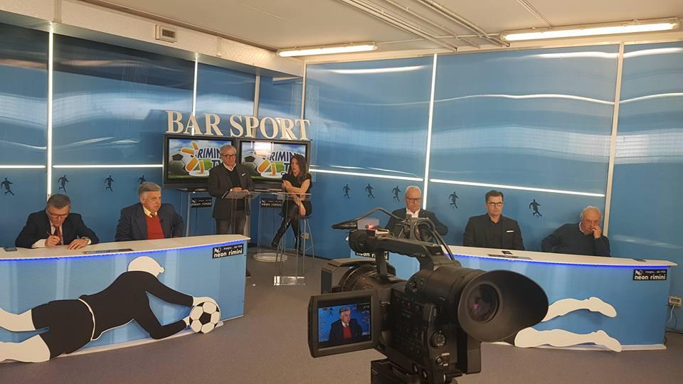 Questa sera a Bar Sport ore 20.30 canale 74 -Riminitv .Teleromagna Mia, ospite Luca Righetti allenatore Rimini calcio.