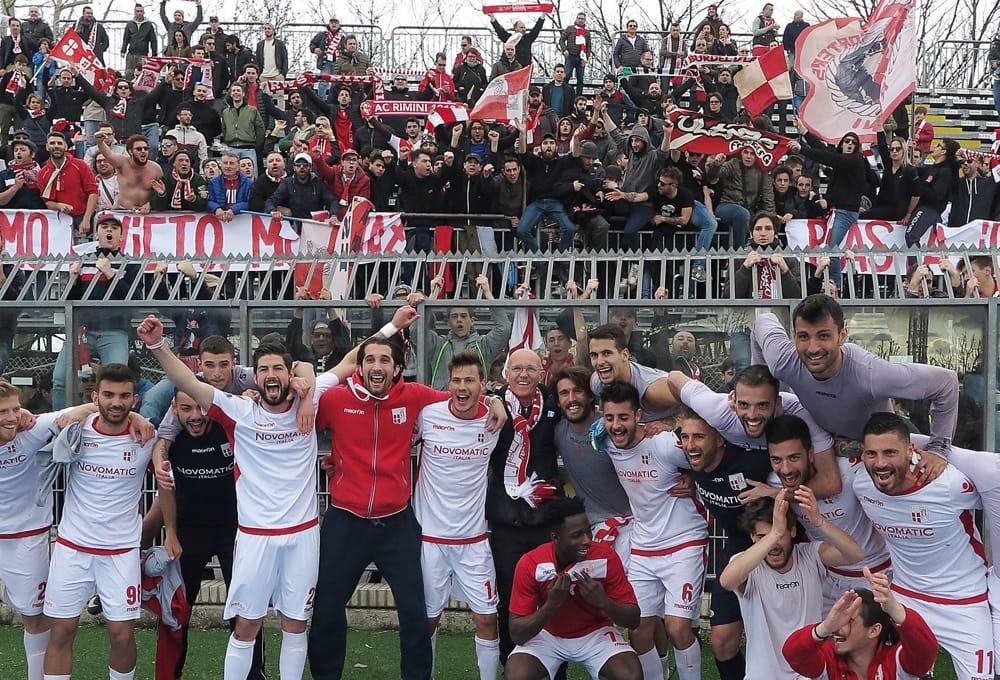 Domani sera la Rimini Calcio sarà ospite della Pro Loco Rimini-Miramare Da Amare.