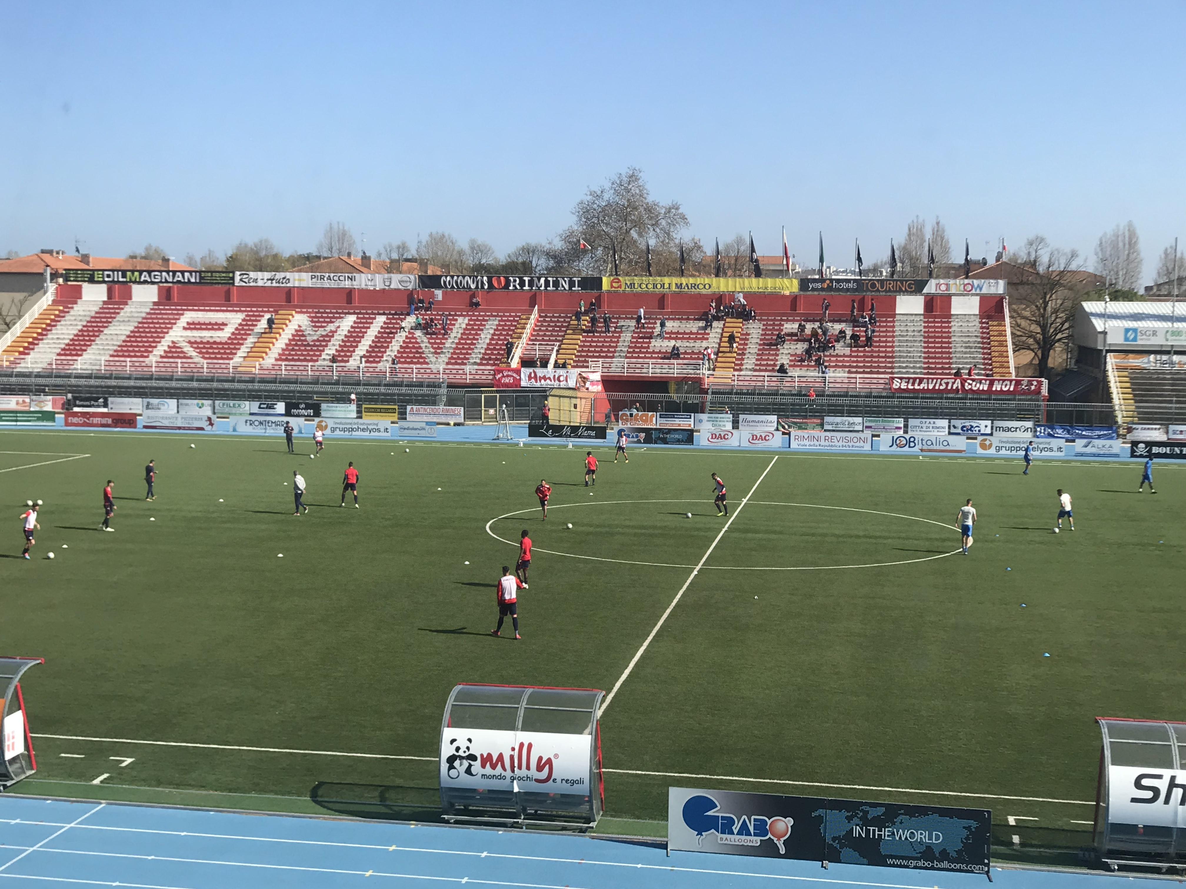 Rimini - Renate 0-0 Adesso si spera nei play out contro la V. Verona.