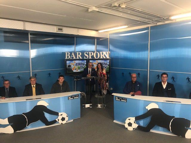 """Questa sera ore 20.30, canale 74,  Rimini tv-Teleromagna Mia torna """"Bar Sport"""""""