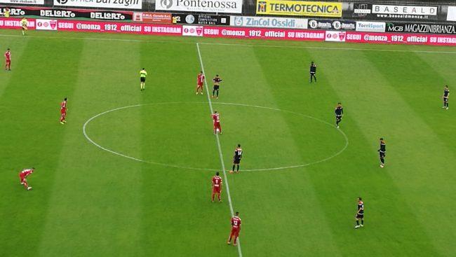 E' un Rimini piccolo, piccolo Monza -Rimini 3-0