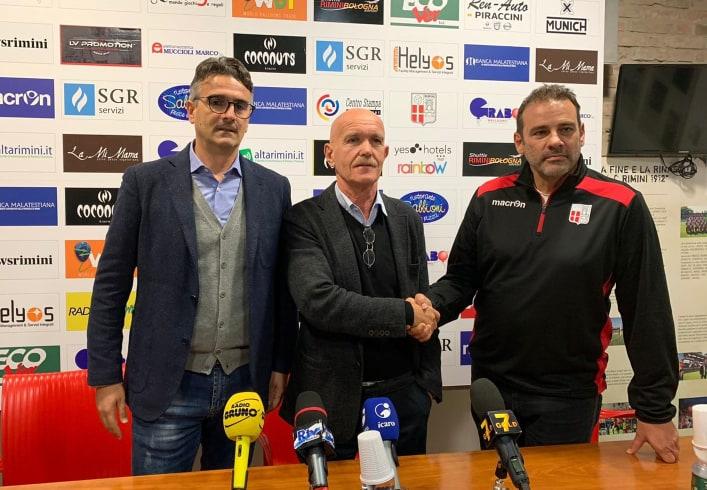 Rimini: La presentazione di Pastore e Colella.