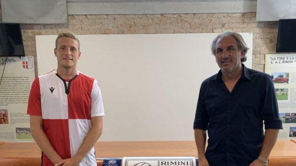 Il difensore Davide Ferrante è un giocatore della Rimini Calcio.