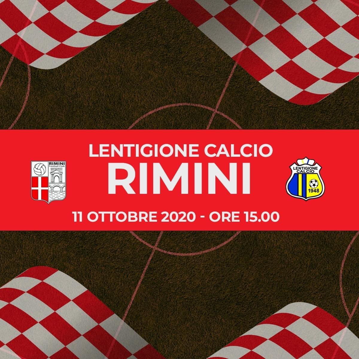 Buon pareggio per i biancorossi.Lentigione-Rimini 1-1