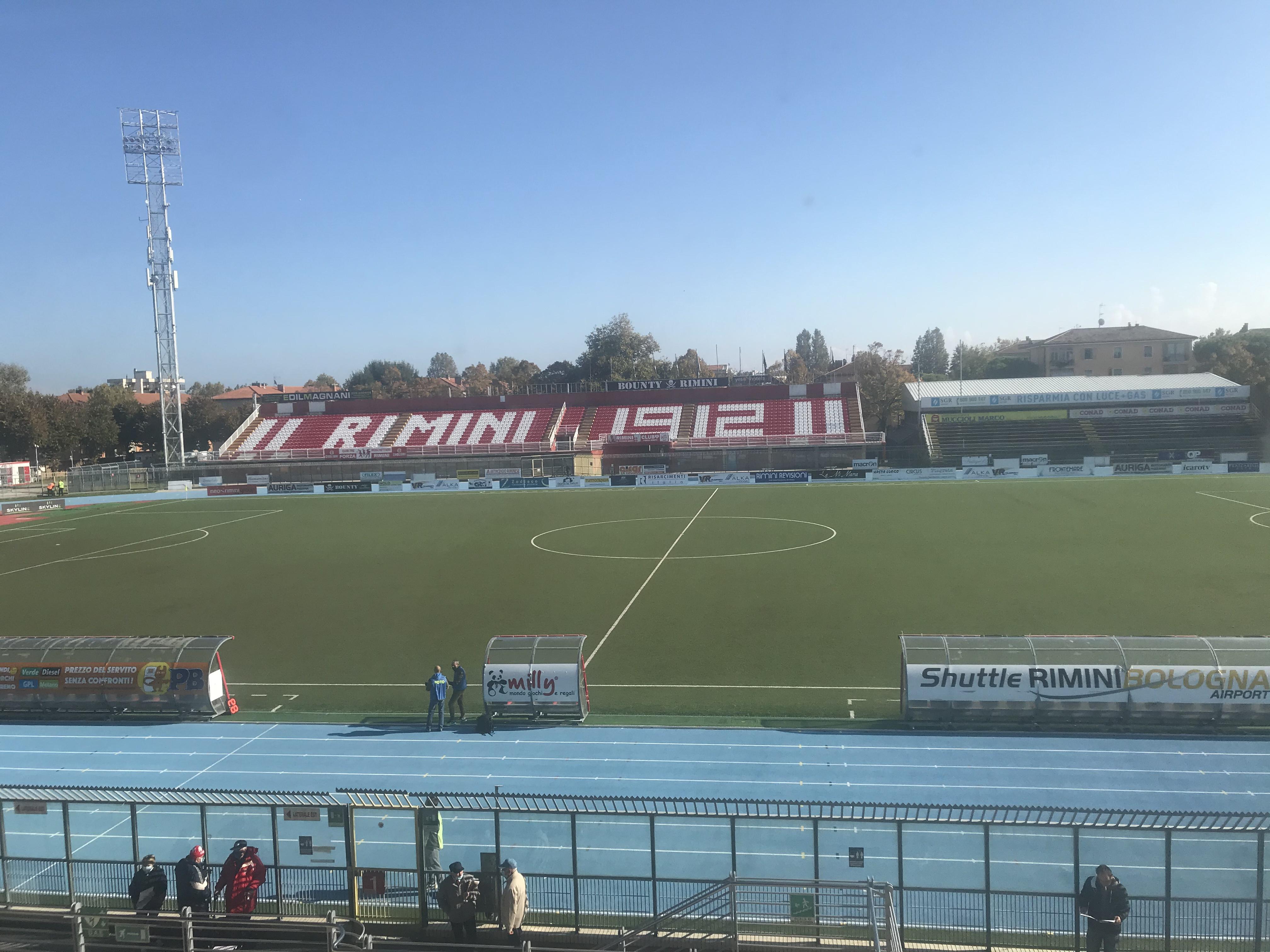 Rimini-Saravezza 1-1